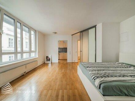 Attraktive 1-Zimmer Wohnung mit Gemeinschaftsterrasse, Nähe Andreaspark