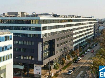 Modernes Bürohaus mit guter Infrastruktur