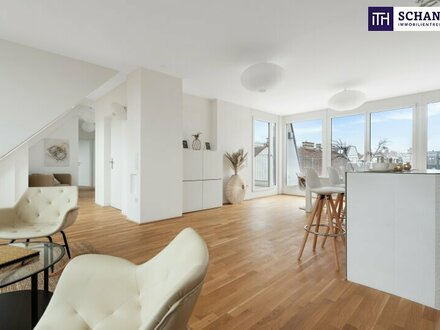 Dachgeschoß-Traum mit perfekter Raumaufteilung und atemberaubenden Freiflächen in absoluter Ruhelage!