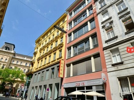 Vermietet wird eine moderne Büroflächen Nähe Museumsquartier bei der Mariahilferstraße