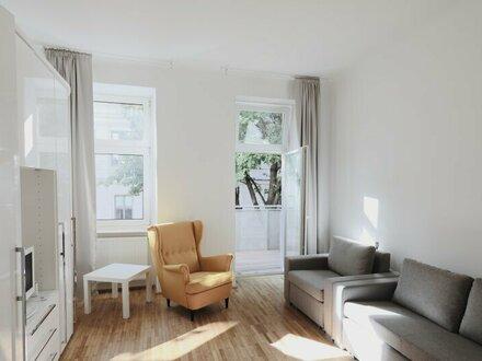 ++NEU++ Sanierte 1-Zimmer ALTBAUwohnung mit Balkon in gefragter Lage!