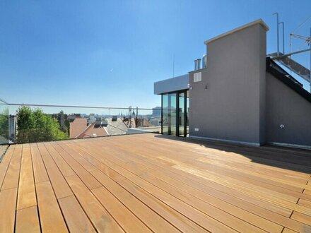 EUM - Dachgeschoß-Rarität! 3-Zimmer-Maisonette mit traumhaften Außenbereichen in historischer Liegenschaft!