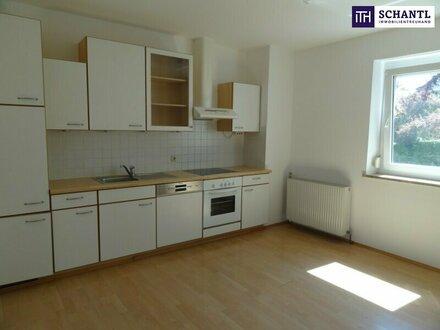 **ITH #JETZT ZUGREIFEN: EXZELLENTE Hausetage mit Sonnenterrasse in Grünlage + Panoramablick + Carport!