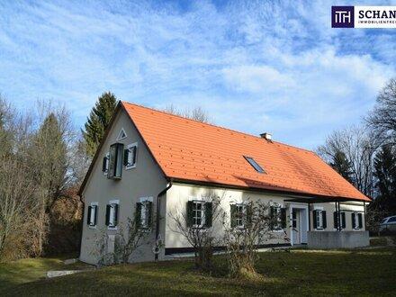 **ITH #IDYLLISCH! Liebevoll generalsaniertes Bauernhaus + Grandioser Fernblick + Absolute Ruhelage + Riesengrundstück in…