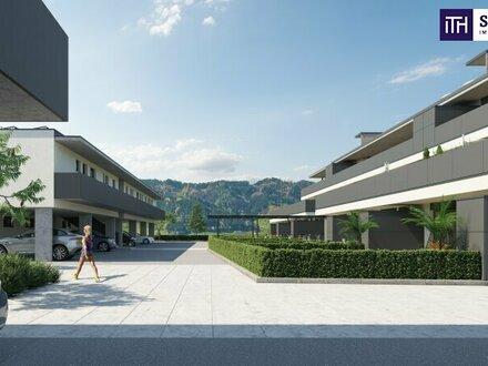 ITH WOHNTRÄUME ERFÜLLEN ! FANTASTISCHES PENTHOUSE ca.71 m² mit ca. 72m² SONNENTERRASSE+FERNSICHT in FOHNSDORF NÄHE THERME…