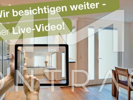 ** BESICHTIGEN SIE JETZT PER VIDEO-LIVE-STREAMING! ** Außergewöhnliche 3-Zimmer-Altbauwohnung mit großer Terrasse - Stadtplatz…