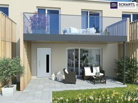 Wunderschönes Eckreihenhaus: Traumhafte Ruhelage + Erstbezug + 4 Zimmer + Eigengarten + Carport