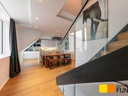 4-Zimmer-Dachgeschoßmaisonette mit Terrasse in ruhiger Wohnlage