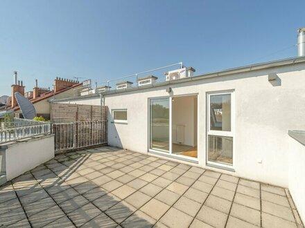 ++NEU++ 3-Zimmer DG-Maisonette mit getrennter Küche und ca. 23m² Dachterrasse!