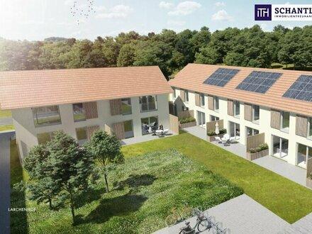 EXKLUSIVE MAISONETTEWOHNUNG mit 4-Zimmer + Garten + Terrasse + Ruhelage im Grünen in Hart bei Graz!