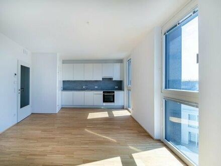 SeeSee Tower ~ PROVISIONSFREI ~ 2-Zimmer mit Loggia ~ Traumhafter Ausblick ~ ERSTBEZUG ~ U-BAHN Nähe