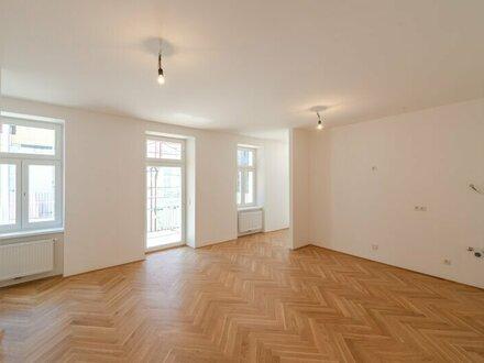 ++NEU++ 3,5 Zimmer- Altbau-ERSTBEZUG an der Donau mit 8m² hofseitigem Balkon! und Terrasse