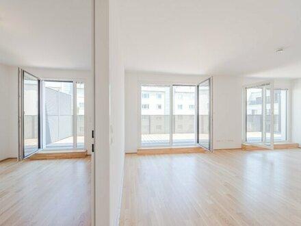 ++NEU++ Premium 3-Zimmer NEUBAUwohnung, top Raumaufteilung, große Terrasse, Garagenplatz inklusive!