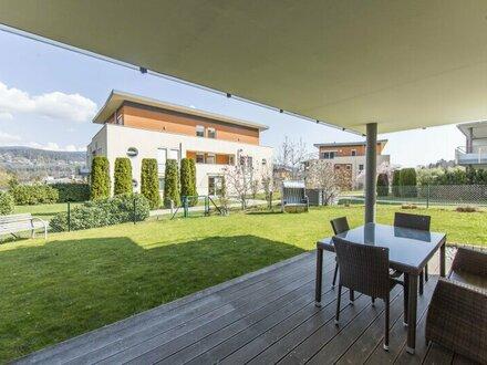 Traumhafte 3-Zimmer Wohnung mit Garten und direktem Seezugang in Velden am Wörthersee zu verkaufen!