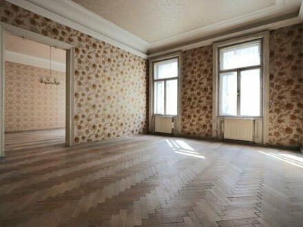 Altbau - Rarität! Sanierungsbedürftige Altbau-Wohnung in Sechsschimmelgasse