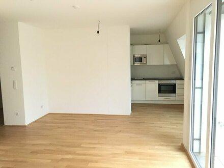 2 Zimmer DG Wohnung! West-Terrasse mit Fernblick! Erstklassige Ausstattung! ab APRIL!