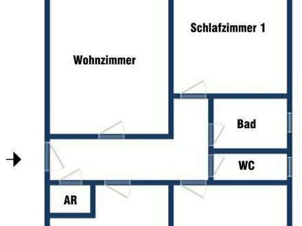Gepflegte 3-Zimmer-Whg. in St. Johann/Pg.
