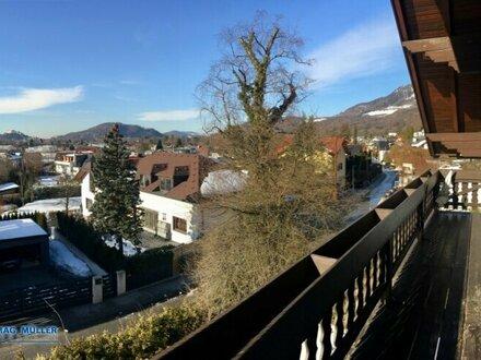 Herrlicher FESTUNGSBLICK | Charmante 2-Zi-Wohnung ca. 78 m² + 10 m² Balkon | SALZBURG-SÜD