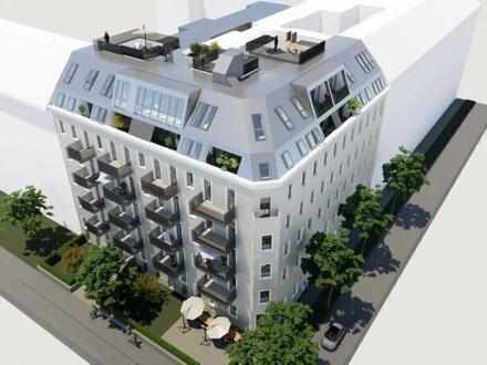 ++Projekt TG 17++ Premium 3-Zimmer ALTBAU-ERSTBEZUG mit 7m² Balkon, umfassend saniertes Projekt!