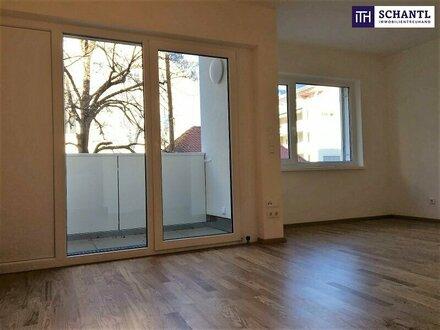 VIEL PLATZ AUF WENIG QUADRATMETERN! Lichtdurchflutete Wohnung mit Loggia + Grüner Innenhof + Perfekte Infrastruktur!