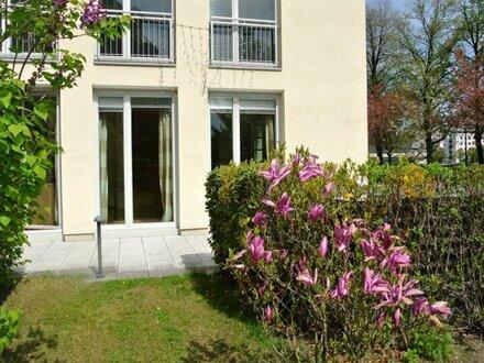 Exklusive Gartenwohnung in Altstadtnähe an der Salzach