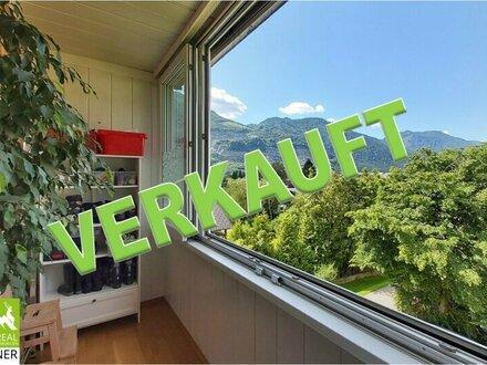Verkauft! Gepflegte 3-Zi. Wohnung mit herrlichem Traunsteinblick