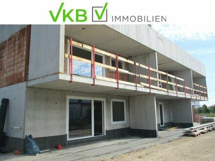 Wohnprojekt Marchtrenk-Erstbezugswohnung mit Terrasse und Tiefgaragen