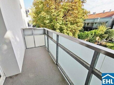 Herbstzeit in Hütteldorf: unsanierte 4-Zimmerwohnung mit Balkon