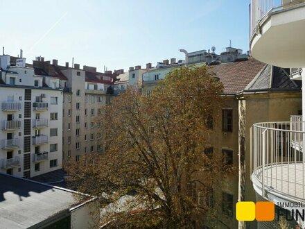 Großzügiger Familienwohn(t)raum mit drei Balkonen in unmittelbarer Augarten-Nähe