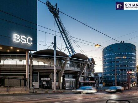 SUPER LAGE! Gewerbe-/Büroflächen in Frequenzlage! Tiefgarage + Gastronomie vorhanden + TOP-Verkehrsanbindung!