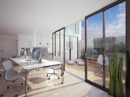 Mini-Bürohaus: Kreativ. Offen. Naturnah.