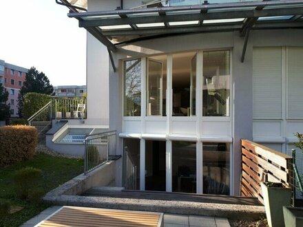 4 Zimmer Garten-Maisonette in Salzburg-Aigen mit 3 Terrassen und Garten
