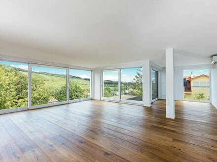 EUM - Exklusive Neubauwohnung mit 3 Terrassen! Dachgeschoß-Erstbezug mit Blick in die Weinberge