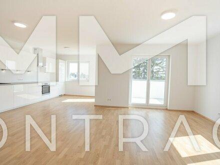AUFGEPASST! Traumhafte Ruhelage und sehr hochwertig ausgestattete Wohnung mit Balkon, Fußbodenheizung und neuer Küche!