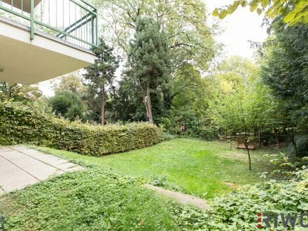 :: Ruhige Gartenwohnung in guter Lage im 18. Bezirk, 4 Schlafzimmer, 2 Bäder, offener Kamin ::