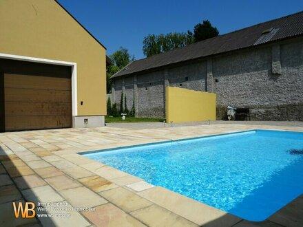 Generalsaniertes Haus mit großem Garten, Pool und zweitem Bauplatz