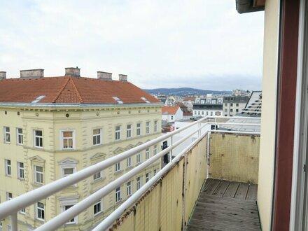 Singles und WG´s aufgepasst! Tolle Wohnung mit Aussicht und Balkon!