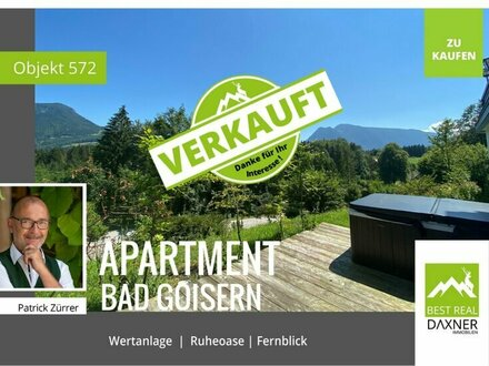 Verkauft! Apartment in Bad Goisern am Hallstättersee mit vielen Extras!