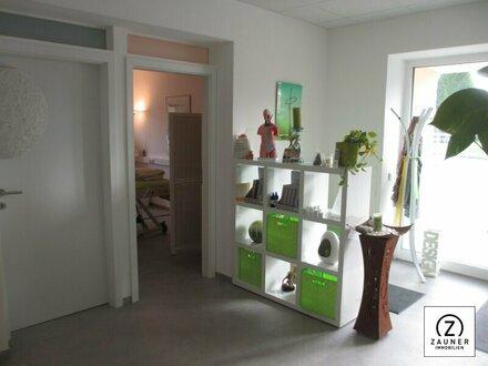 Geschäftsfläche in Bürmoos zu vermieten- ideal für Praxis od. Büro