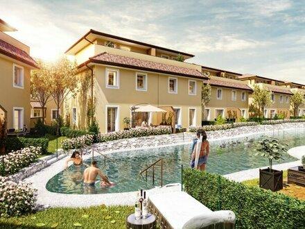 SEEHAUS mit direktem Seezugang - Traumhafte, schlüsselfertige, exklusive & klimatisierte Doppelhäuser mit Toskana-Flair…