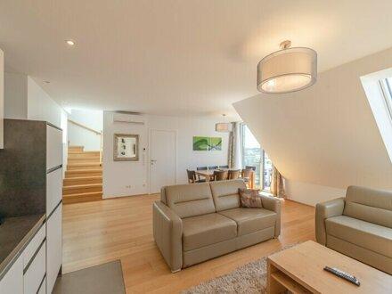 ++NEU++ Exklusive, voll möblierte (fully furnished) 4,5-Zimmer DG-Wohnung, sehr hochwertige Ausstattung, bezugsfertig! nahe…