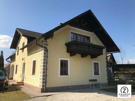Mondsee/St. Lorenz: Großzügige 2,5-Zi.-Wohnung im EG. mit Gartenanteil