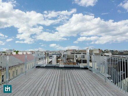 Moderne 4 Zi. DG-Terrassenwohnung in zentraler Lage - Kurzzeitvermietung explizit gestattet