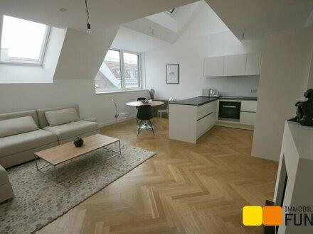 Dachgeschossmaisonette mit Terrasse, Erstbezug auf hohem Ausstattungsniveau