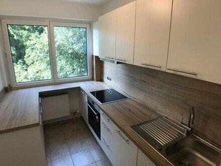Neu renovierte 3-Zimmer-Wohnung mit Loggia und Balkon nähe Schloss Aigen zu vermieten