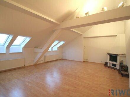Schöne DG-Wohnung im Herzen der Wiener Innenstadt, Terrasse, Ruhelage
