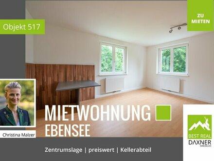 Preiswerte 3-Zimmer (62m²) Mietwohnung in Ebensee!