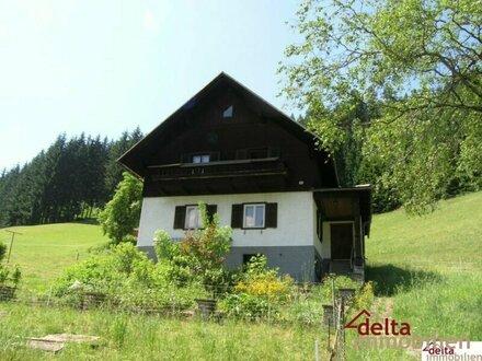 Wohnhaus mit Nebengebäuden - Kleinlandwirtschaft in Gosau