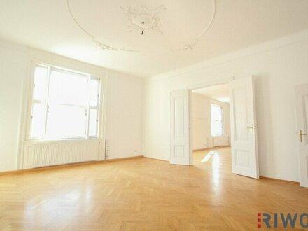 Herrschaftliche Kaminwohnung am Naschmarkt // 2-Zimmer // Balkon // 3-Zimmer möglich!
