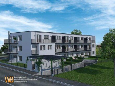 Moderne Anlegerwohnung! 2 Zimmer mit großem Garten in Deutsch Wagram! Exklusives NEUBAUPROJEKT mit 15 Wohneinheiten in Entstehung!